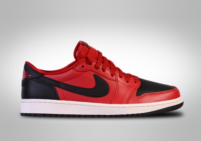 NIKE AIR JORDAN 1 RETRO LOW OG BRED