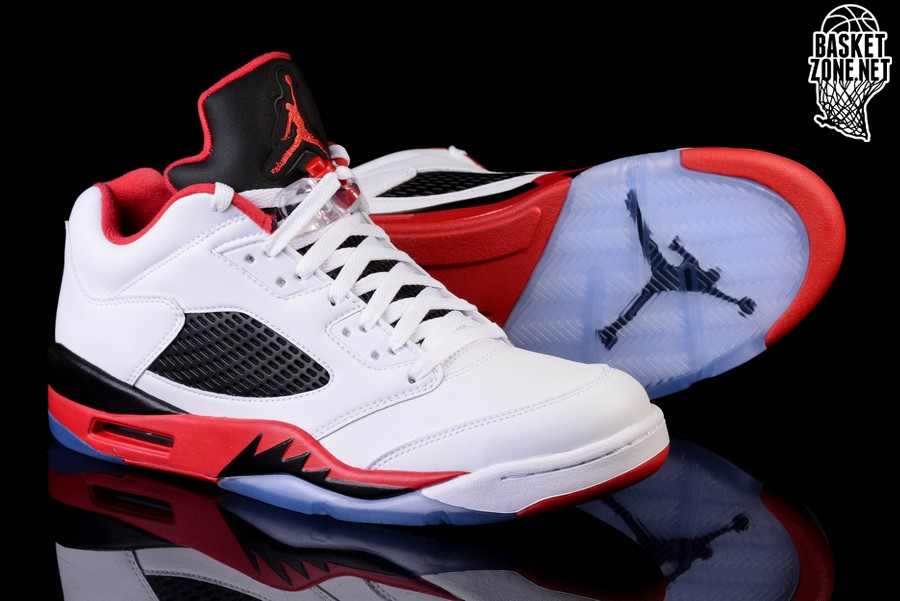 13d4c6a5dc9 NIKE AIR JORDAN 5 RETRO LOW FIRE RED price €165.00 | Basketzone.net