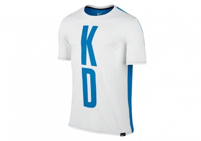 NIKE KD 35 SPLIT TEE WHITE PHOTO BLUE