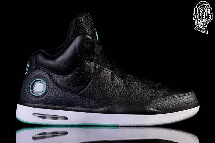 best sneakers 4493b bc10c NIKE AIR JORDAN FLIGHT TRADITION BLACK/FRESH MINT price 125.00fr ...