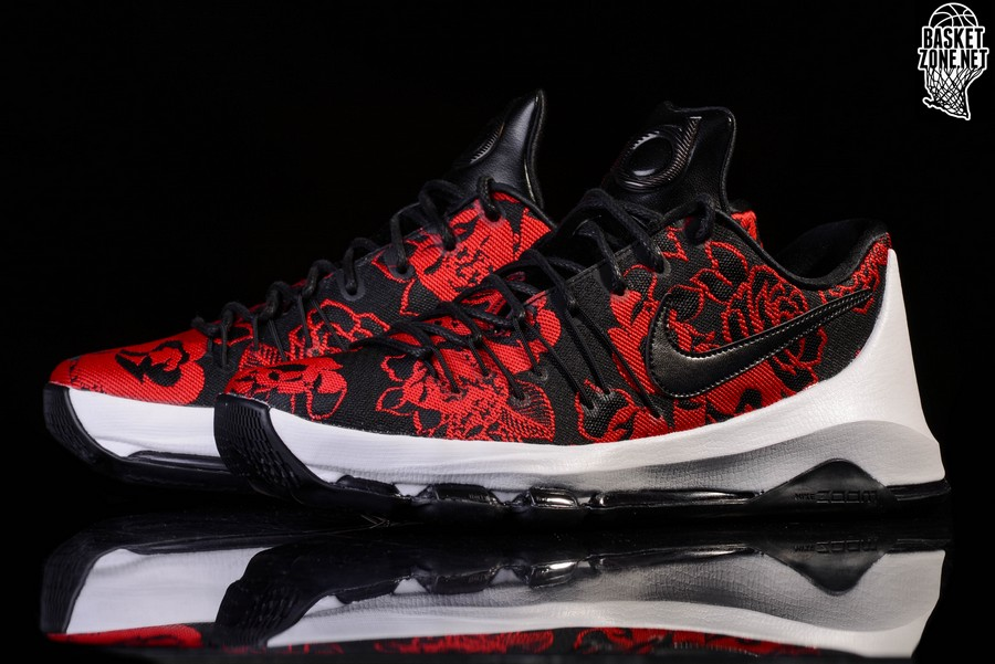 premium selection 34198 854bb NIKE KD 8 EXT RED FLORAL LIMITED