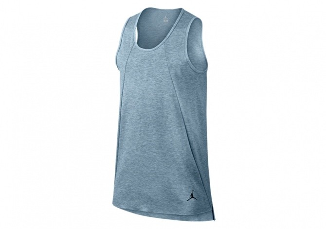 NIKE AIR JORDAN 23 LUX EXTENDED TANK BLUE GREY HEATHER