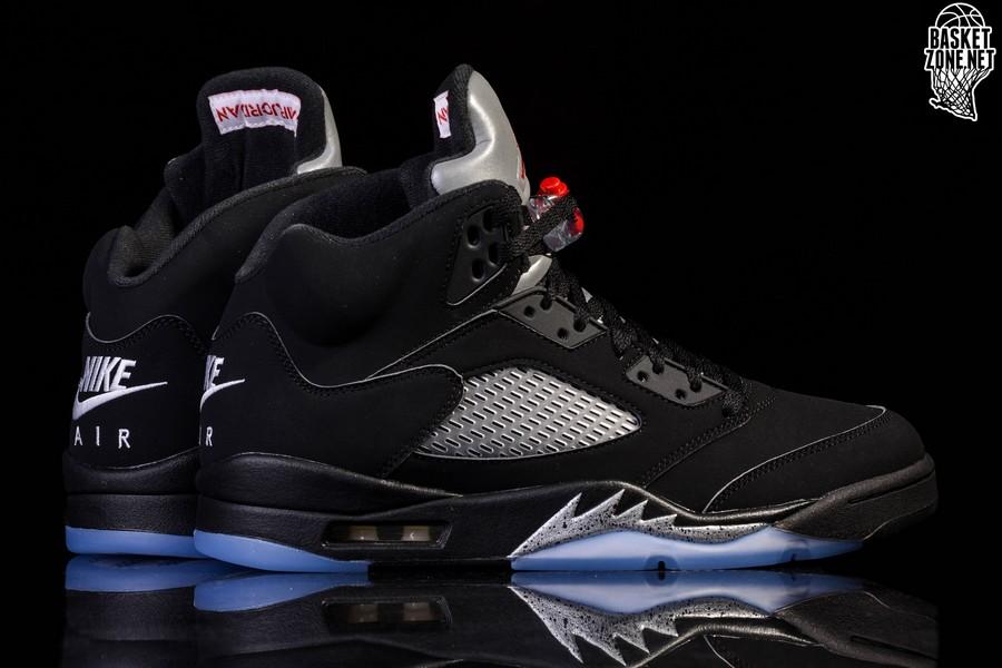 c8b09eed386 NIKE AIR JORDAN 5 RETRO OG BLACK METALLIC price €255.00 | Basketzone.net