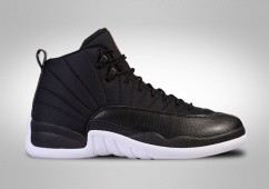 NIKE AIR JORDAN 12 RETRO BLACK NYLON