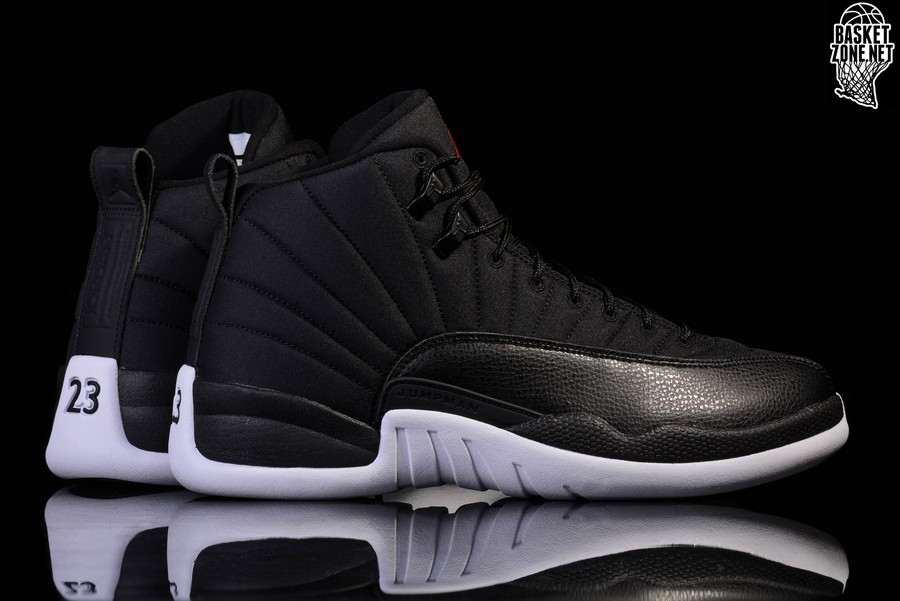 Air Black Nylon Pour Retro Jordan 12 Nike ULGVpqSzM