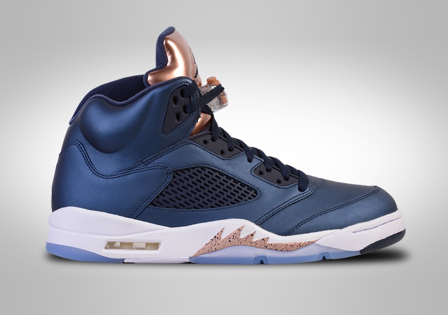 best sneakers a3e62 cb651 NIKE AIR JORDAN 5 RETRO BRONZE