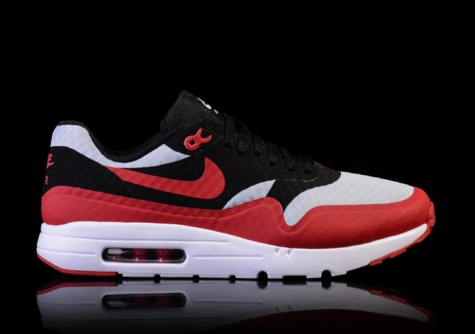 site réputé 98bbd 1ced7 NIKE AIR MAX 1 ULTRA ESSENTIAL GYM RED-BLACK-WHITE voor €115 ...