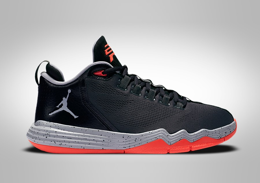 free shipping 559ce da666 ... authentic nike air jordan cp3.ix ae bg anthracite wolf grey black b065a  f5d33