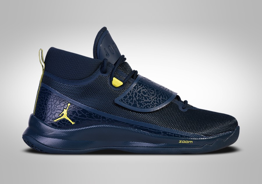 f30384f1b82 NIKE AIR JORDAN SUPER.FLY 5 PO NAVY BLUE LIME BLAKE GRIFFIN price ...
