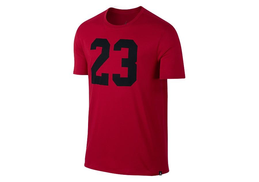 meet 73274 b0ce5 NIKE AIR JORDAN JSW ICONIC 23 TEE GYM RED price €27.50   Basketzone.net