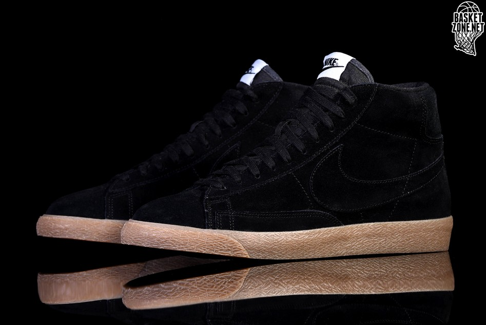 low cost latest fashion shop NIKE BLAZER MID PREMIUM BLACK GUM price €92.50 | Basketzone.net