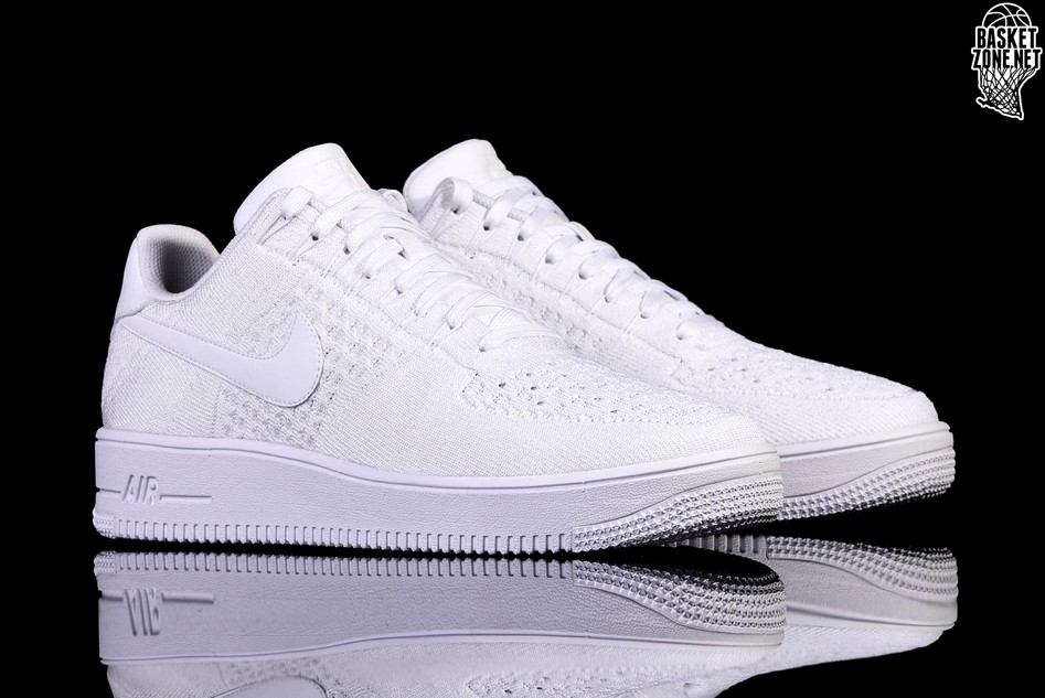 lowest price 10a9b fd238 NIKE AIR FORCE 1 ULTRA FLYKNIT LOW WHITE price €122.50 ...