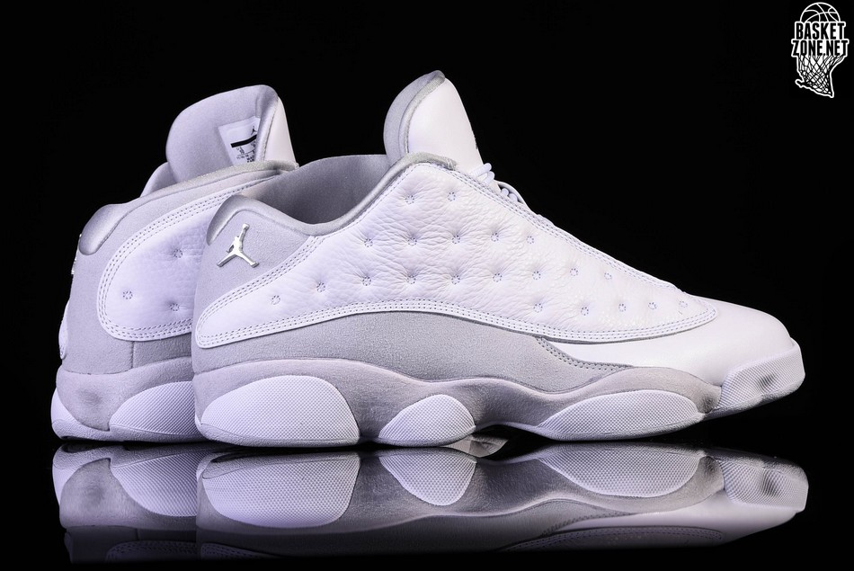 online store fae64 4acf3 NIKE AIR JORDAN 13 RETRO LOW PURE MONEY