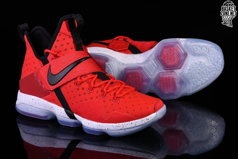 35f1b81b5696 official store lebron 14 red white foam 356e7 5af92
