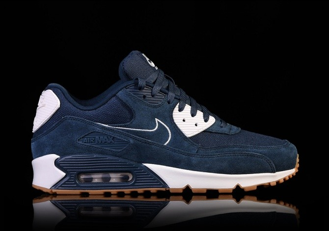sneakers for cheap 54a6d 7acfb NIKE AIR MAX 90 PREMIUM ARMORY NAVY price €132.50 ...