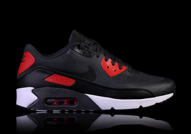nike air max 90 ultra 2.0 nero and red