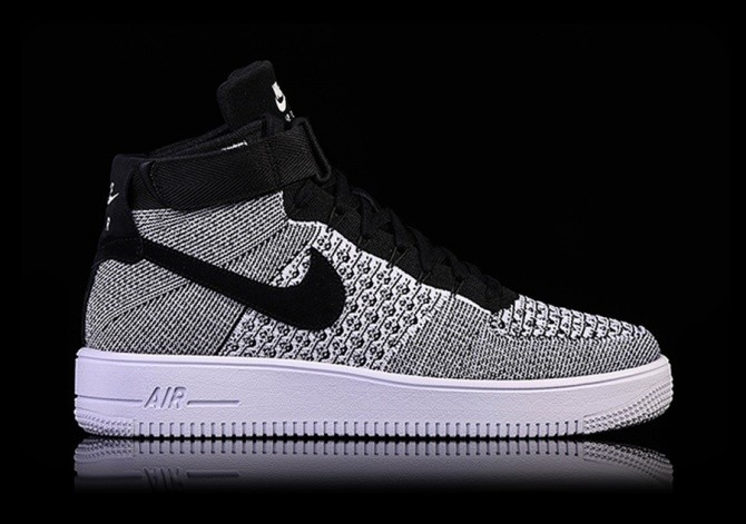 0b7d1ba8227a NIKE AIR FORCE 1 ULTRA FLYKNIT MID OREO pour €135