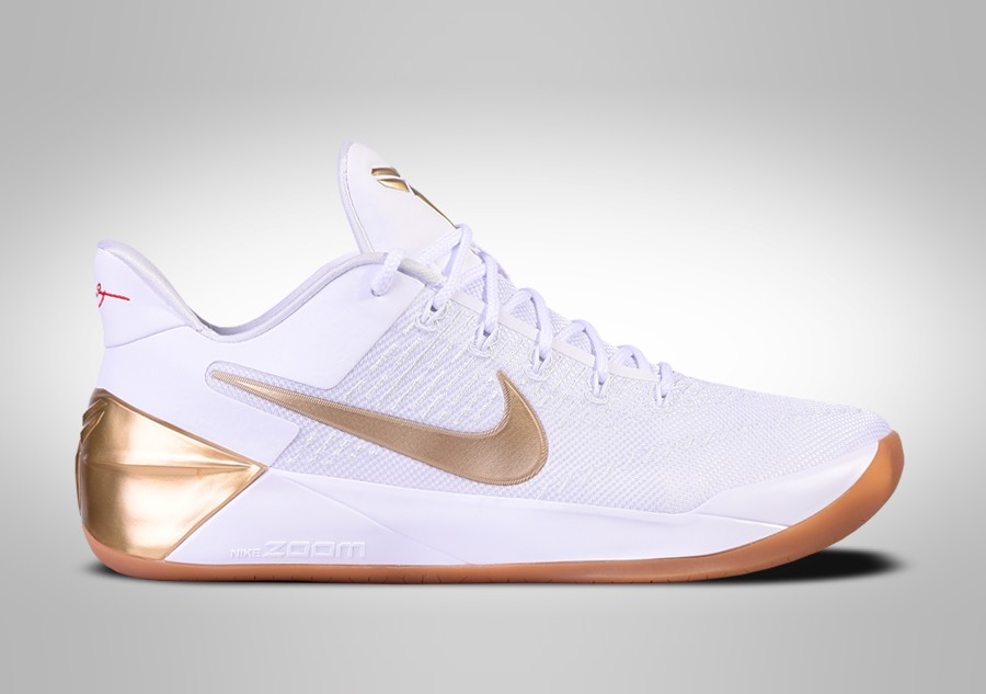 Nike Kobe A D 12 Big Stage White Metallic Gold Price 125 00 Basketzone Net