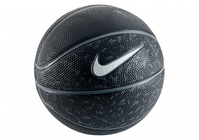 NIKE SWOOSH MINI (SIZE 3) BASKETBALL BLACK
