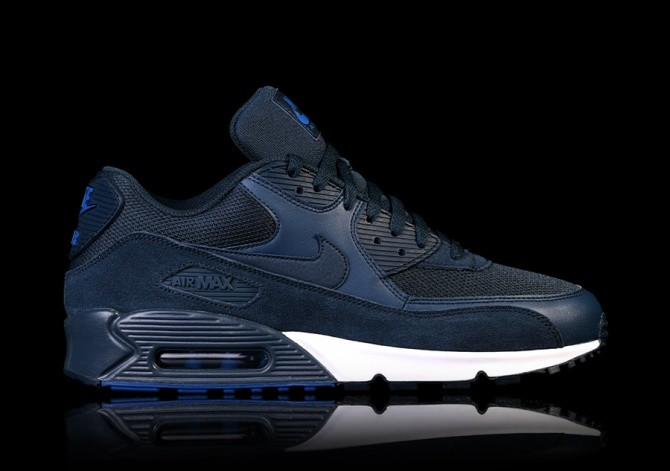 finest selection 177aa 2d378 NIKE AIR MAX 90 ESSENTIAL NAVY BLUE