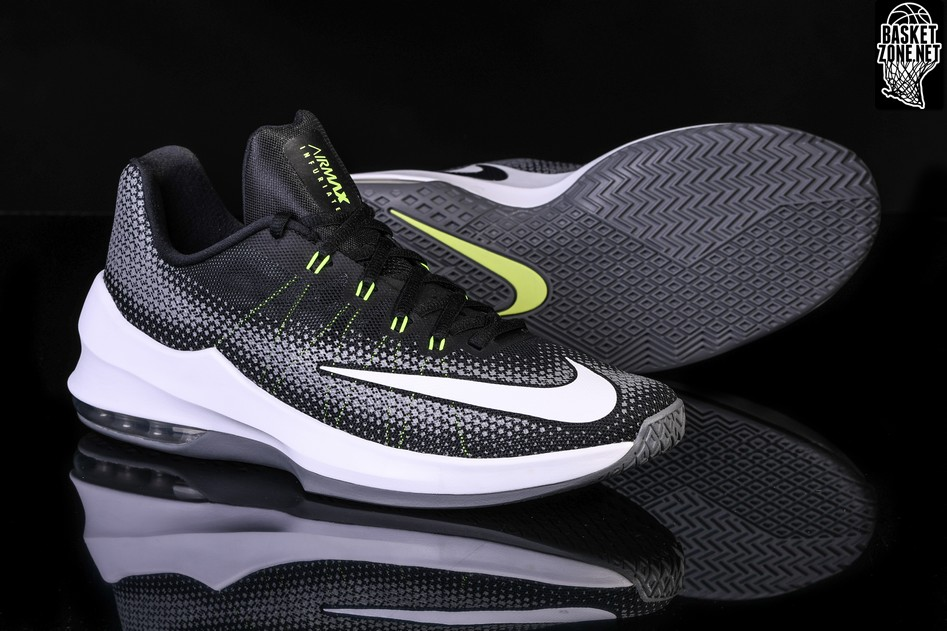5c06396bbbd NIKE AIR MAX INFURIATE LOW BLACK WHITE VOLT price €69.00 ...