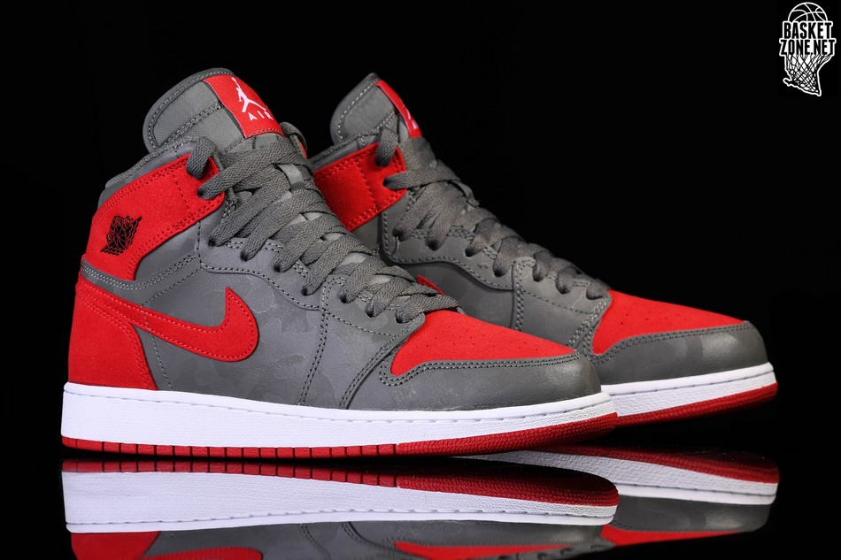 big sale 63002 477d0 NIKE AIR JORDAN 1 RETRO HIGH PREMIUM GS RIVER ROCK