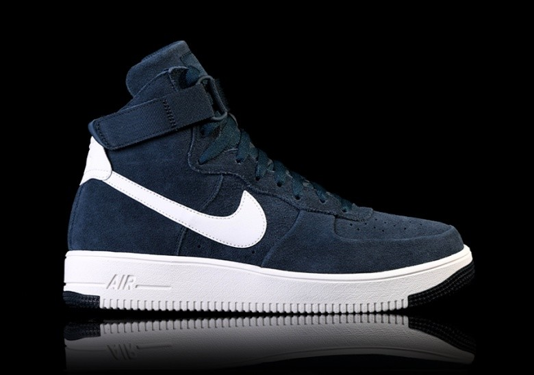 the latest 84766 f79d4 NIKE AIR FORCE 1 ULTRAFORCE HIGH ARMORY NAVY