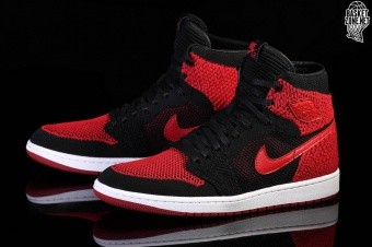 various colors d404e 7f62d NIKE AIR JORDAN 1 RETRO HIGH FLYKNIT BANNED. 919704-001