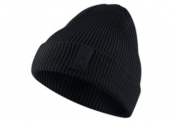c47084c4336e NIKE AIR JORDAN LOOSE GAUGE CUFF KNIT BEANIE BLACK price €32.50 ...