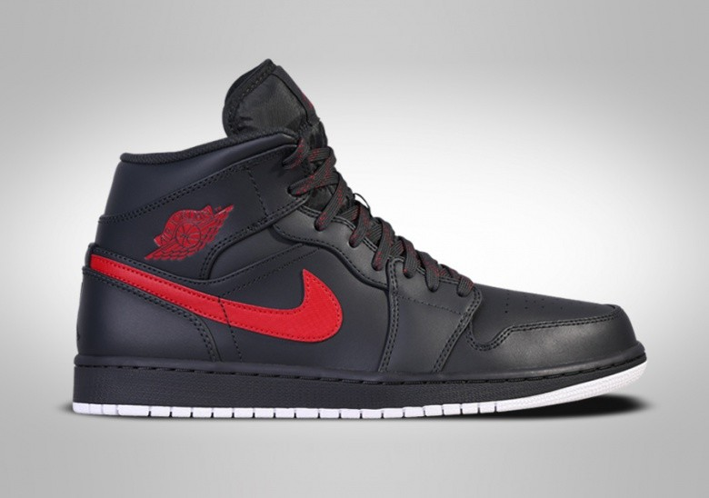buy online 74bdd 92e90 ... discount nike air jordan 1 retro mid anthracite red fcbc4 92417