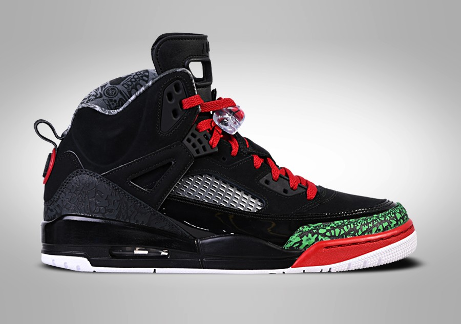 40962fc7811c NIKE AIR JORDAN SPIZIKE BLACK RED POISON GREEN price €145.00 ...
