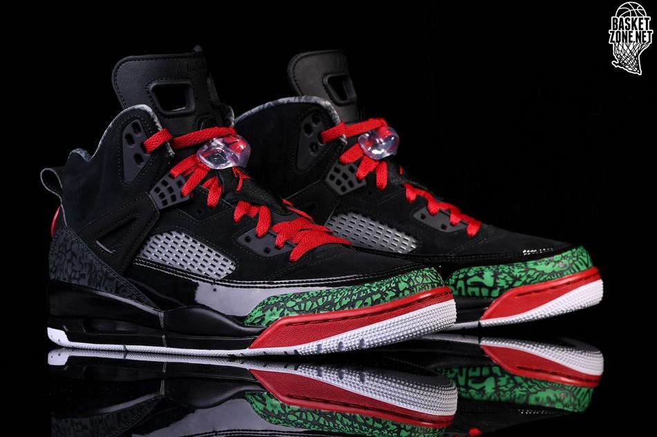 best website 92394 174aa ... low price nike air jordan spizike black red poison green b7c7c 98da5
