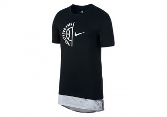 NIKE FLY CLOUDS DRY BASKETBALL TEE BLACK