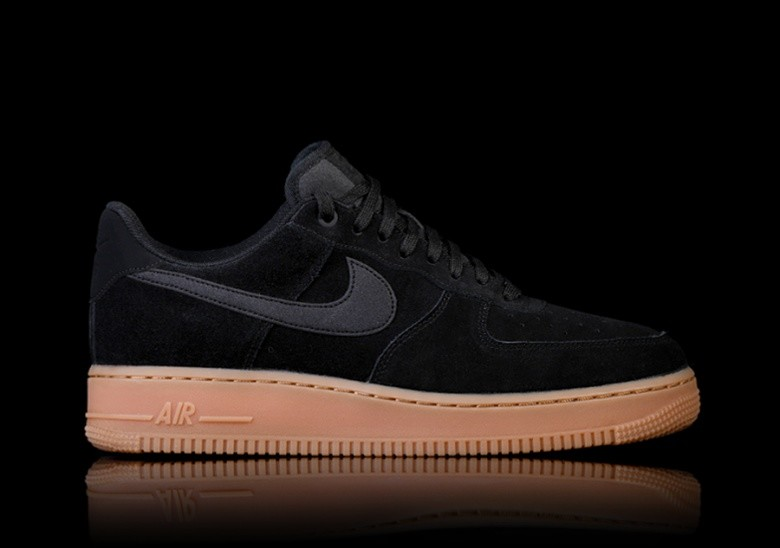 Suede Air Force Nike Lv8 Por 1 '07 Black nOk0wP