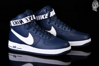 separation shoes 6e15f ffcf6 NIKE AIR FORCE 1 HIGH  07 NBA COLLEGE NAVY