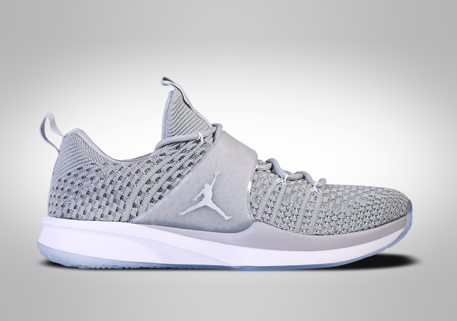 finest selection 0d001 38c6a where to buy nike air jordan trainer 2 flyknit wolf grey 257b1 54800