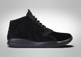 NIKE AIR JORDAN ECLIPSE CHUKKA LEA TRIPLE BLACK