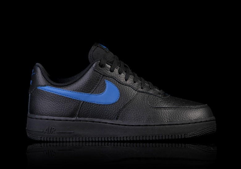 NIKE AIR FORCE 1  07 BLACK BLUE por €87 b117790b32