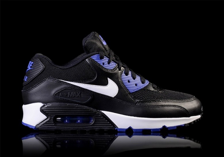 NIKE AIR MAX 90 ESSENTIAL BLACK/PERSIAN VIOLET