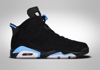 NIKE AIR JORDAN 6 RETRO UNC BLACK
