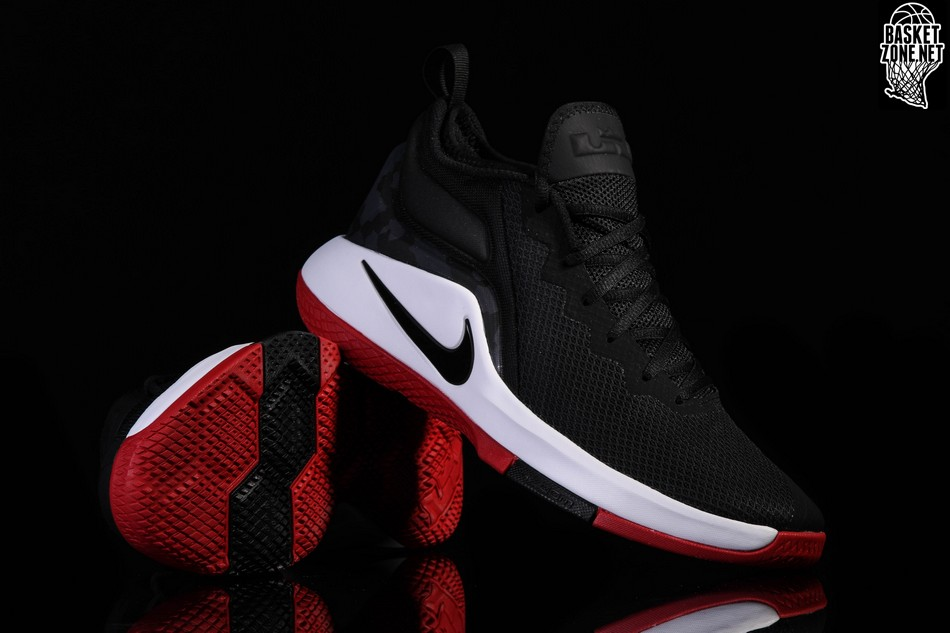 official photos 83e7a 85162 NIKE LEBRON WITNESS II BRED