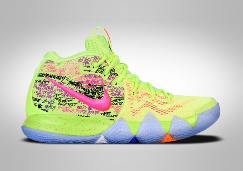25f608d40168 NIKE KYRIE 4 CONFETTI LIMITED EDITION price €279.00