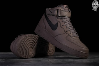 Nike Air Force 1 Mid '07 Buty Nike Męskie RidgerockCzarne