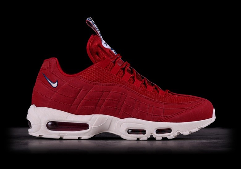 NIKE AIR MAX 95 TT GYM RED