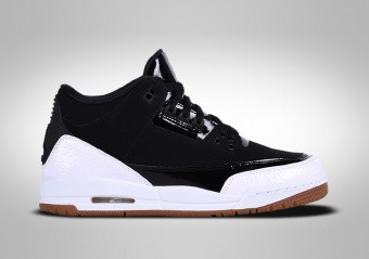 NIKE AIR JORDAN 3 RETRO BLACK WHITE GUM GG