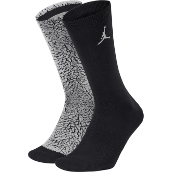 AIR JORDAN ELEPHANT CREW SOCKS WOLF