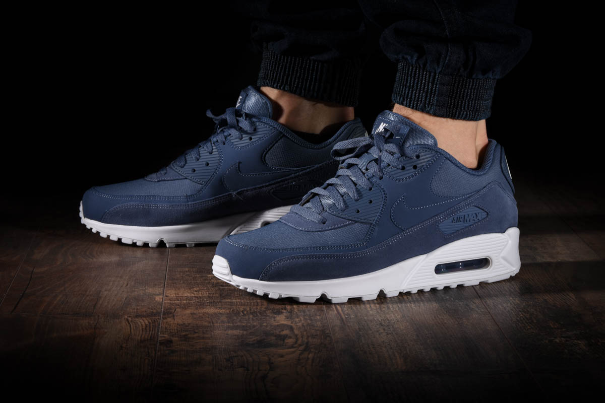 NIKE AIR MAX 90 Essential (Midnight Navy White V Red) [AJ1285 403] Mens 8 13