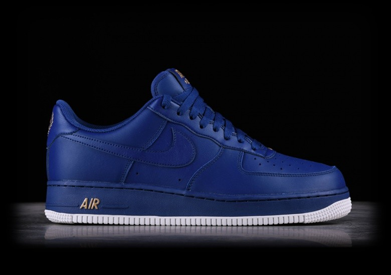 NIKE AIR FORCE 1 '07 DEEP ROYAL BLUE