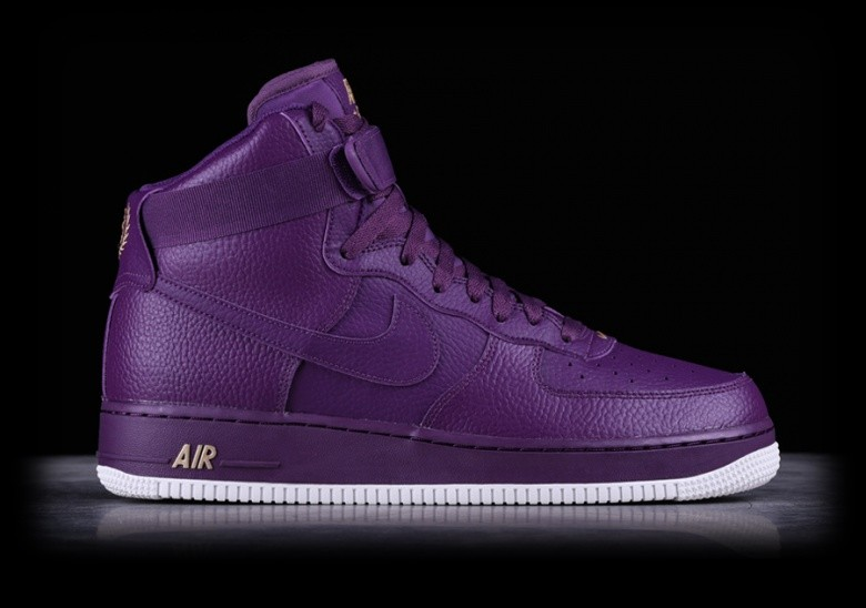 new concept 13ce2 9dd05 NIKE AIR FORCE 1 HIGH  07 NIGHT PURPLE
