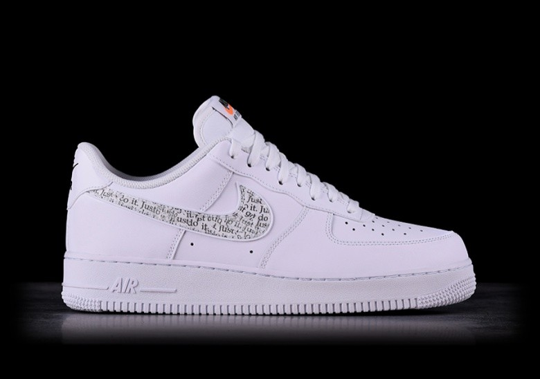 NIKE AIR FORCE 1 '07 LV8 JDI LNTC WHITE